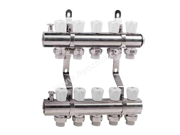 5-Branch Brass Manifold Set-2