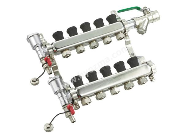 5-branch stainless steel Manifold set