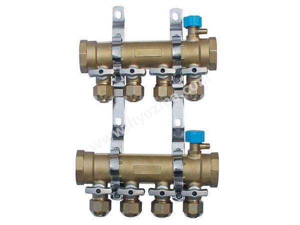 4-Branch Brass Manifold Set-1