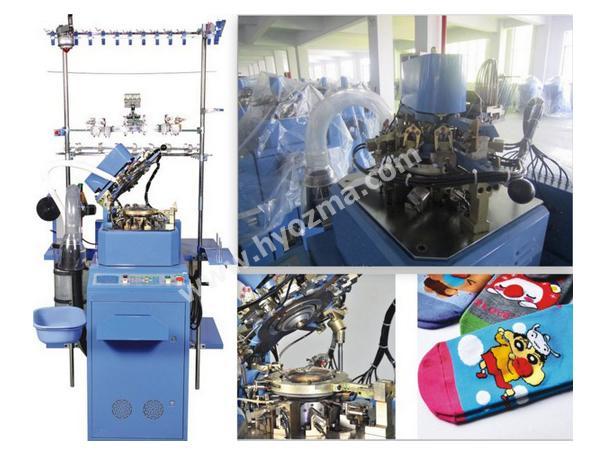 Automatic Plain Sock Knitting Machine HY-6F-321